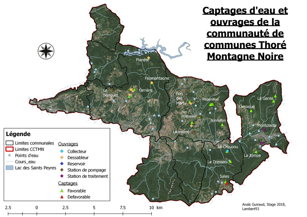 carte des captages cctmn