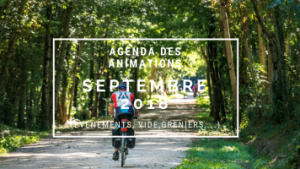 Animation de septembre